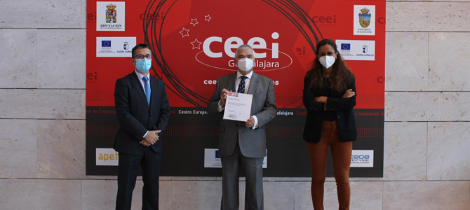 Spika Tech receives the EIBT brand from the CEEI of Guadalajara